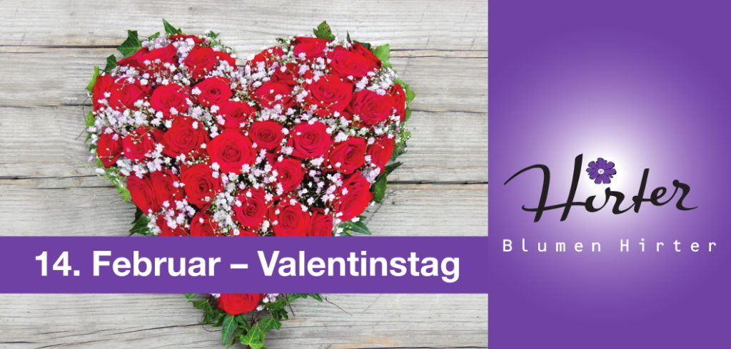 Valentinstag Mittwoch 14 Februar 2018blumen Hirter Ag Blumen